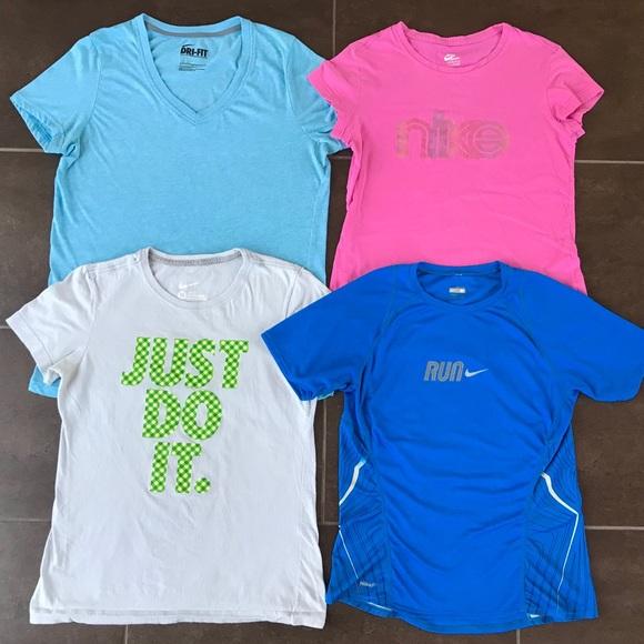 fdc8d3b78b0c Nike Tops - 4 Nike Women s Athletic Tops Bundle